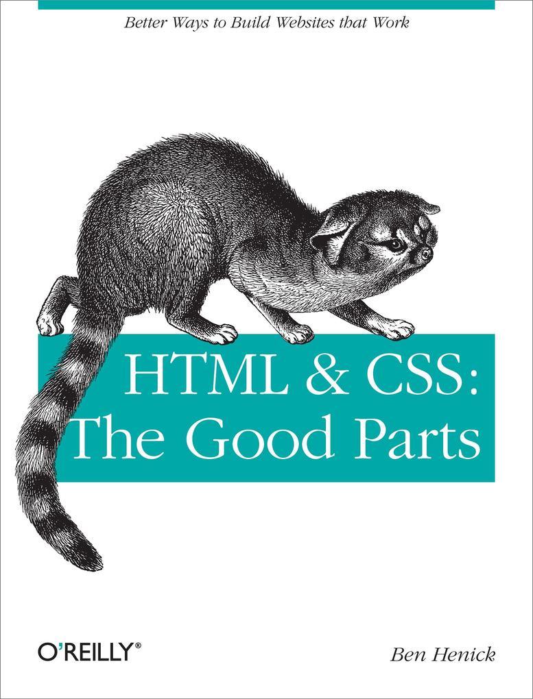 HTML & CSS als eBook Download von Ben Henick