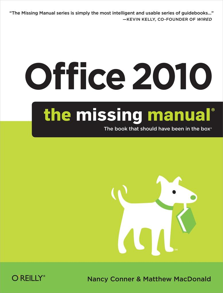 Office 2010: The Missing Manual als eBook Downl...