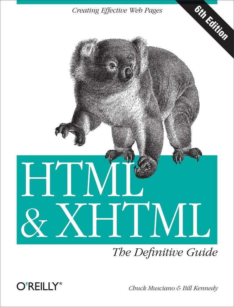 HTML & XHTML: The Definitive Guide als eBook Do...