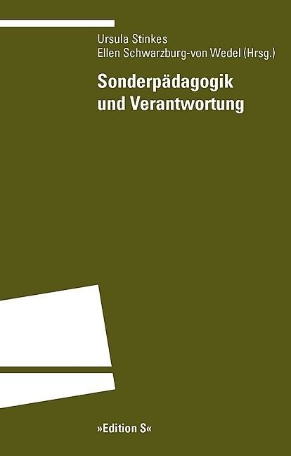 Sonderpädagogik und Verantwortung als Buch von