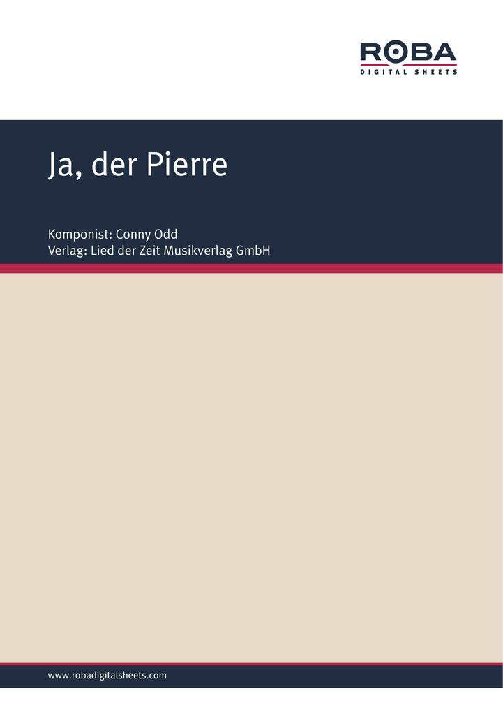 Ja, der Pierre als eBook epub