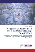 A Sociolinguistic Study of Hindi and Telugu Kinship Terminology
