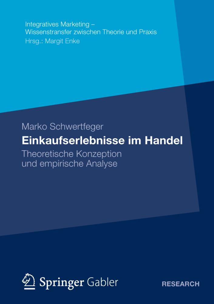 Einkaufserlebnisse im Handel als Buch von Marko...