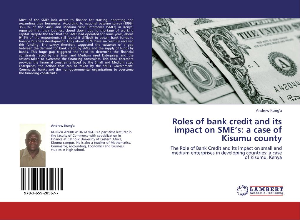 Roles of bank credit and its impact on SME´s: a...