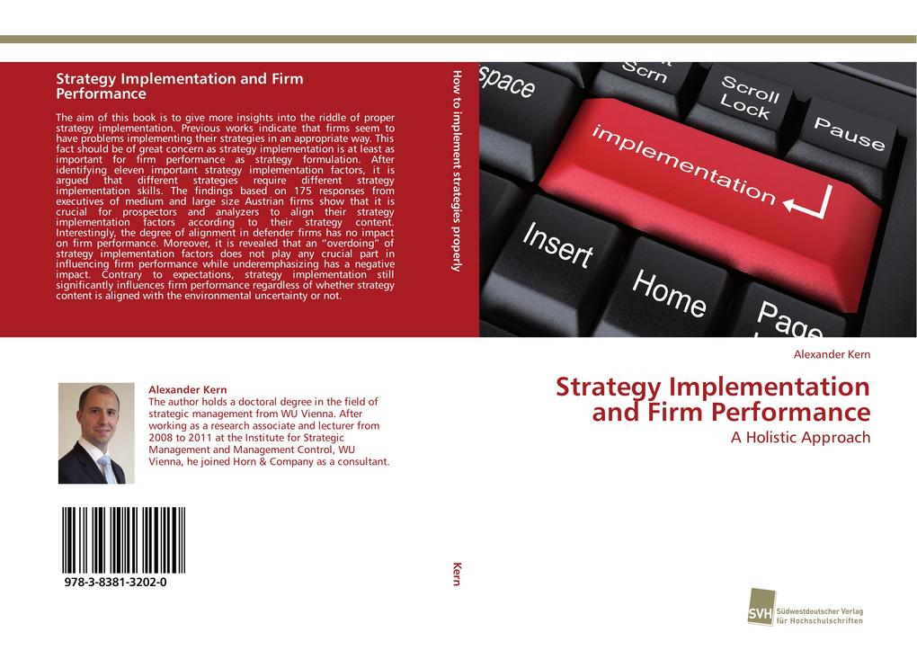 Strategy Implementation and Firm Performance al...