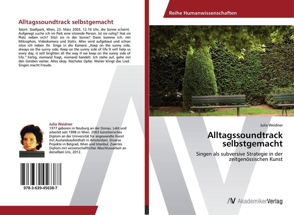 Alltagssoundtrack selbstgemacht als Buch von Ju...