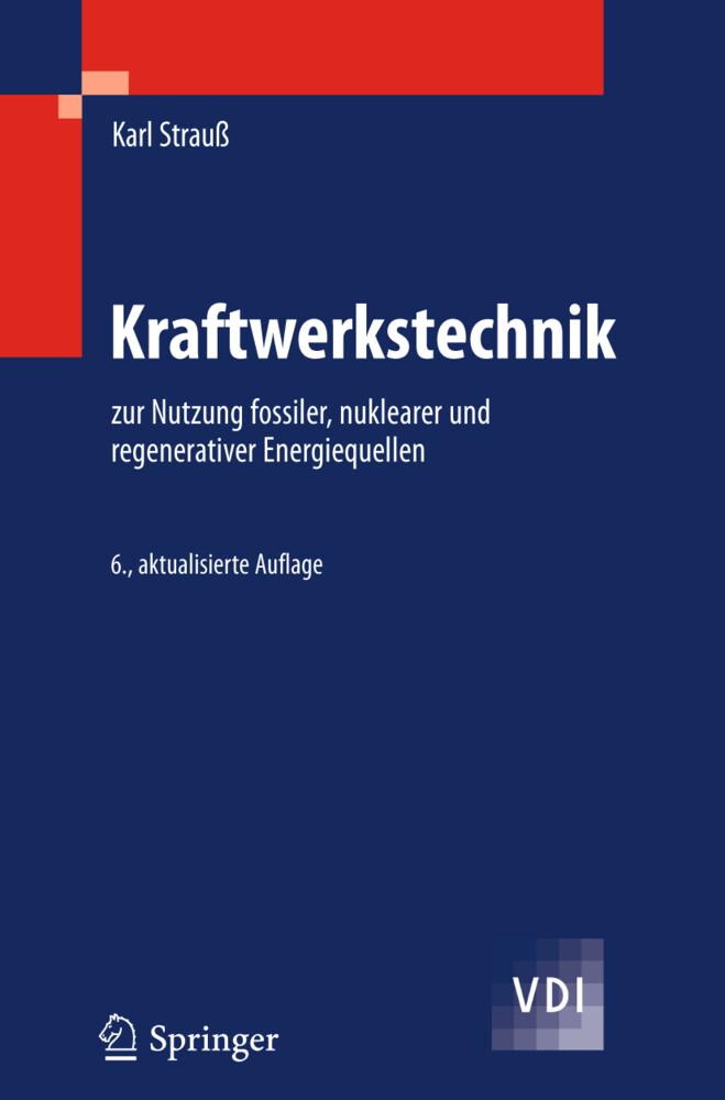 Kraftwerkstechnik als Buch