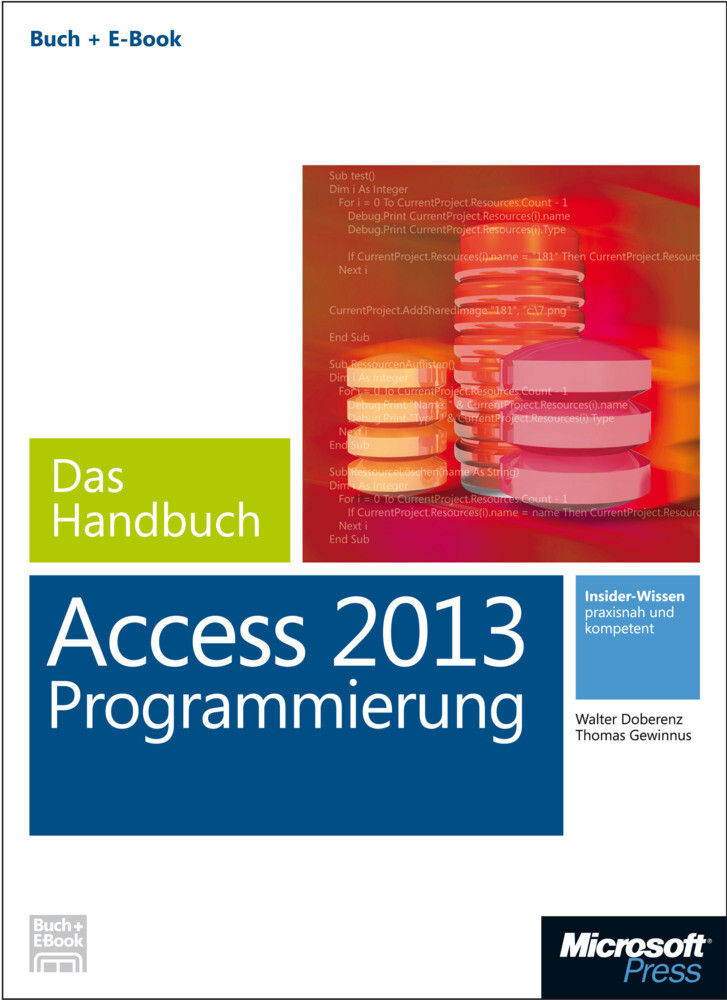 Microsoft Access 2013 Programmierung - Das Hand...