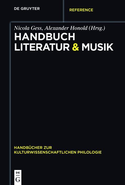 Handbuch Literatur & Musik als eBook Download von