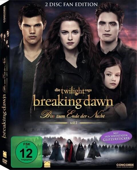 Breaking Dawn - Bis(s) zum Ende der Nacht 2 als DVD