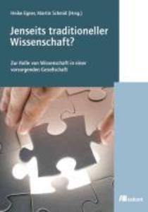 Jenseits traditioneller Wissenschaft. als eBook Download von Heike Egner, Martin Schmidt - Heike Egner, Martin Schmidt