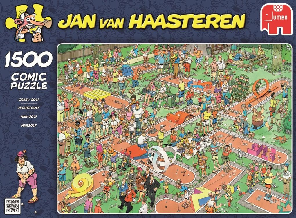 Jumbo Spiele - Puzzle - Jan van Haarsteren - Mi...