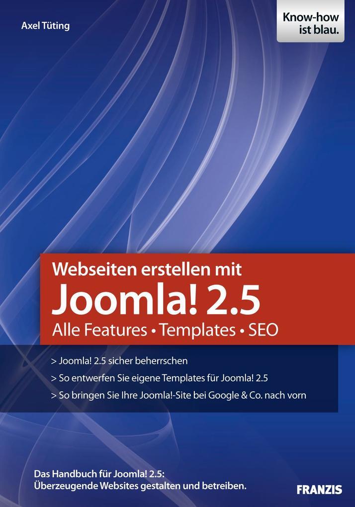 Webseiten erstellen mit Joomla! 2.5 als eBook D...