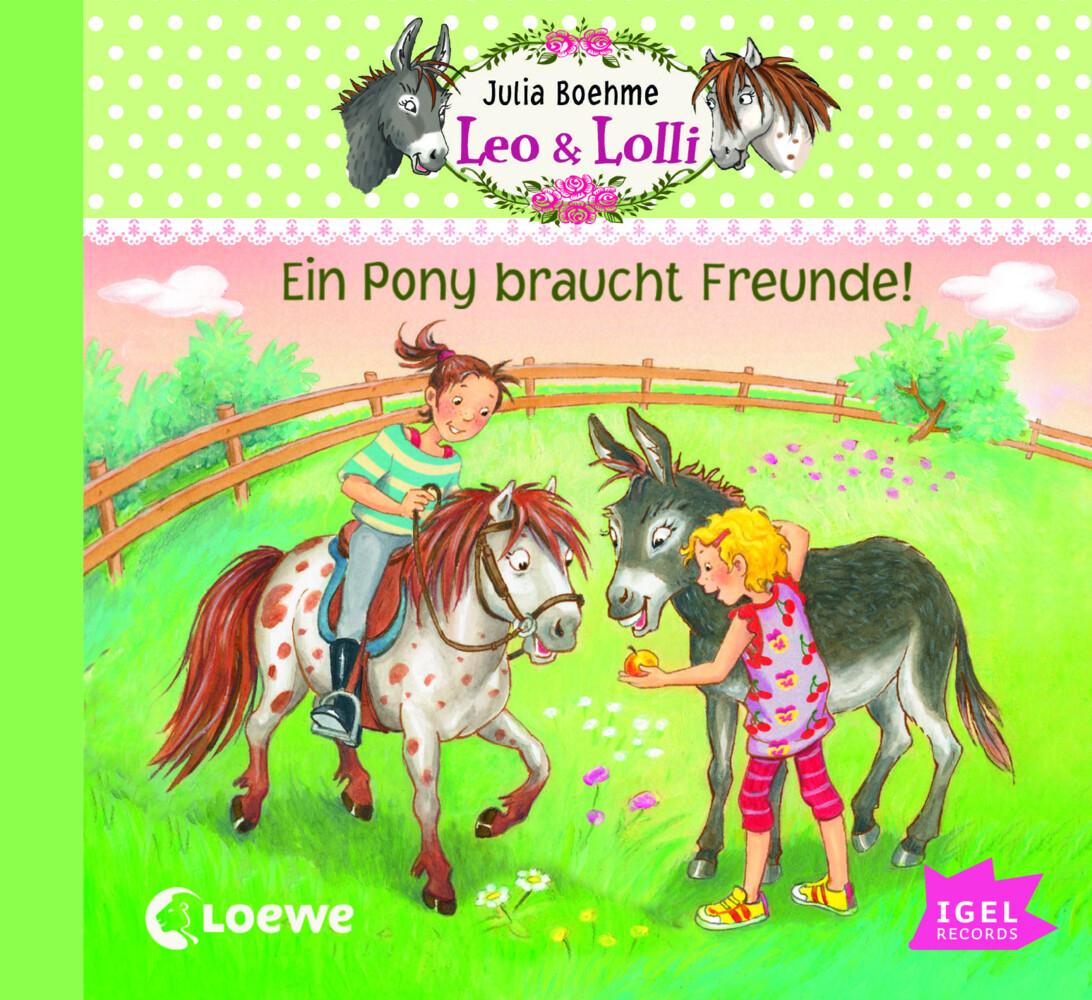 Leo & Lolli - Ein Pony braucht Freunde als Hörb...