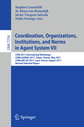Coordination, Organizations, Instiutions, and Norms in Agent System VII