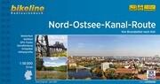 Bikeline Nord-Ostsee-Kanal-Route 1 : 50 000