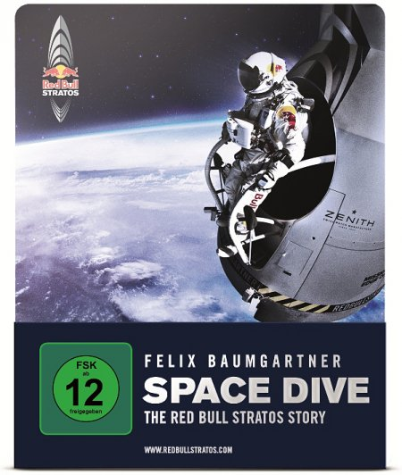 Space Dive - The Red Bull Stratos Story als Blu-ray