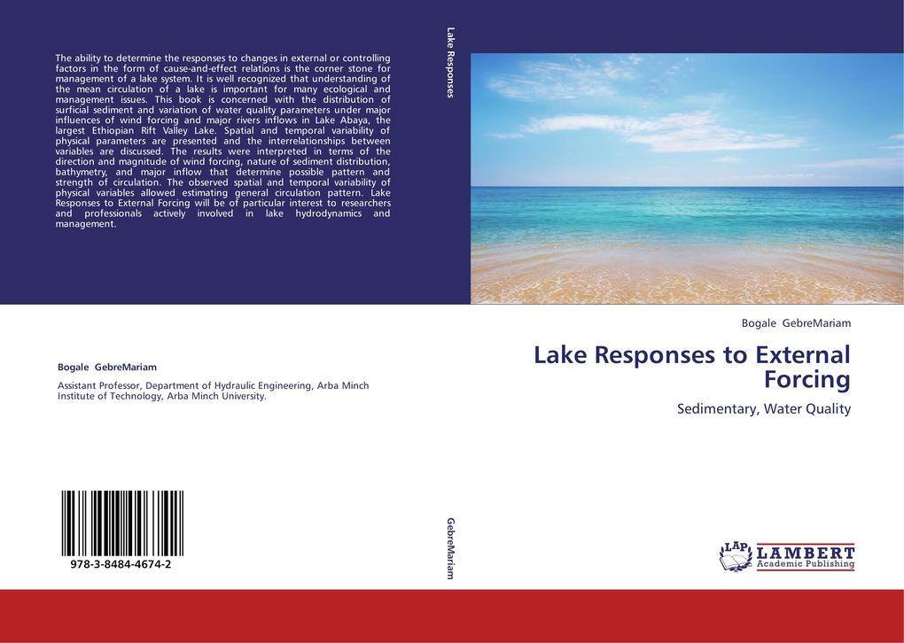 Lake Responses to External Forcing als Buch von...