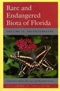 Rare and Endangered Biota of Florida: Vol. IV. Invertebrates