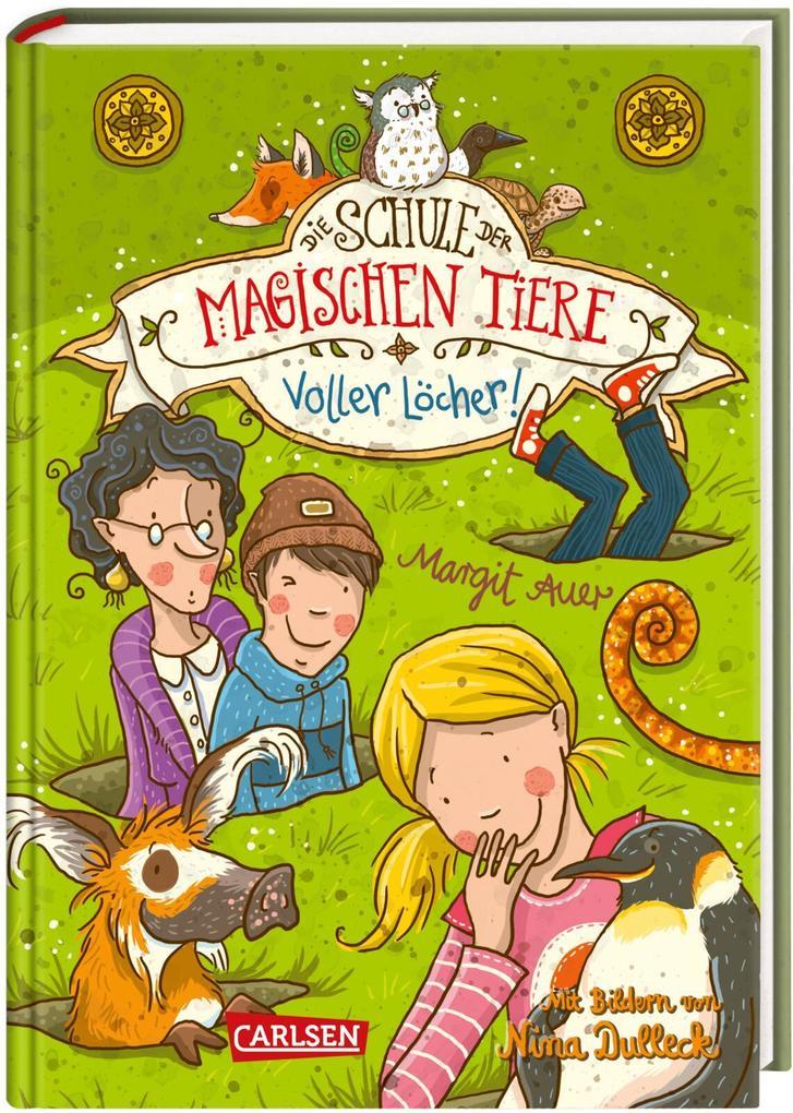 Die Schule der magischen Tiere 02: Voller Löcher! als Buch (gebunden)