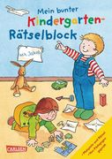 Mein bunter Kindergarten-Rätselblock