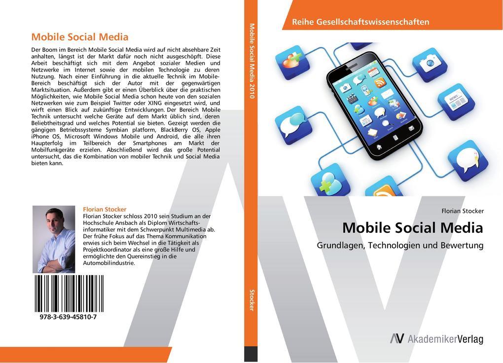 Mobile Social Media als Buch von Florian Stocker