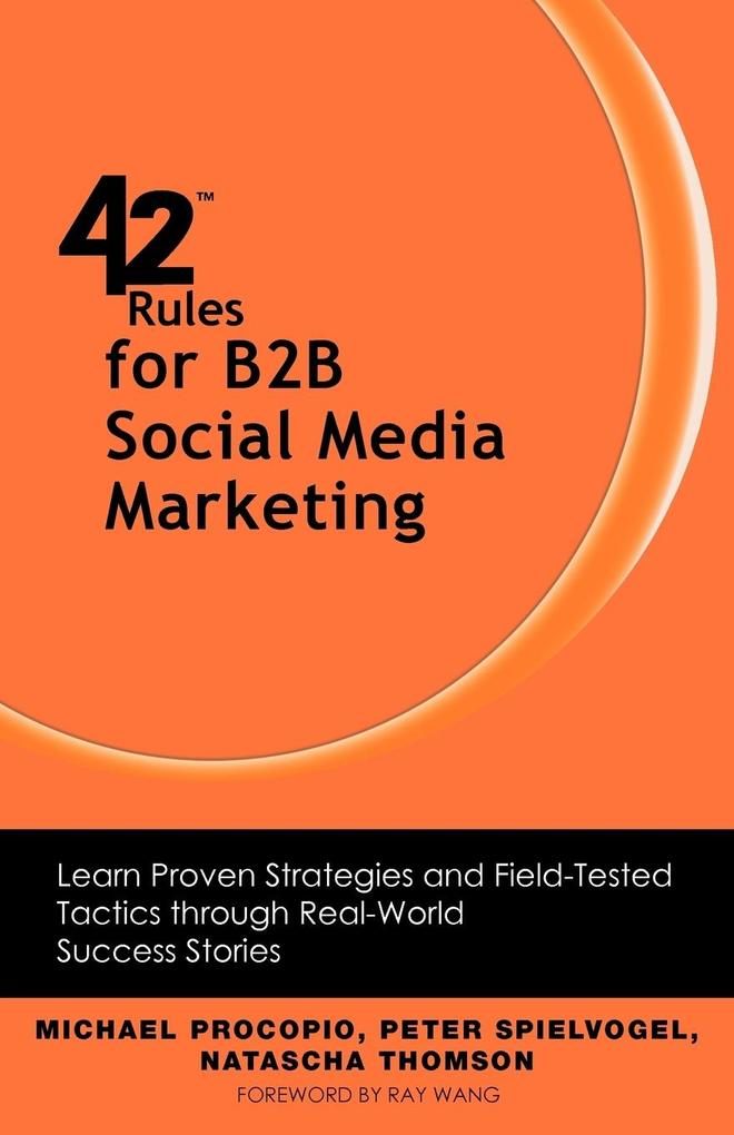 42 Rules for B2B Social Media Marketing als Tas...