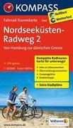 Nordseeküstenradweg 2, Von Hamburg/Elbe zur dänischen Grenze 1 : 50 000