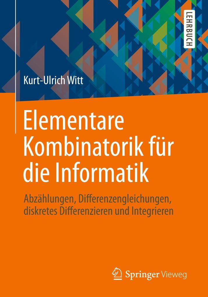 Elementare Kombinatorik für die Informatik als Buch (kartoniert)