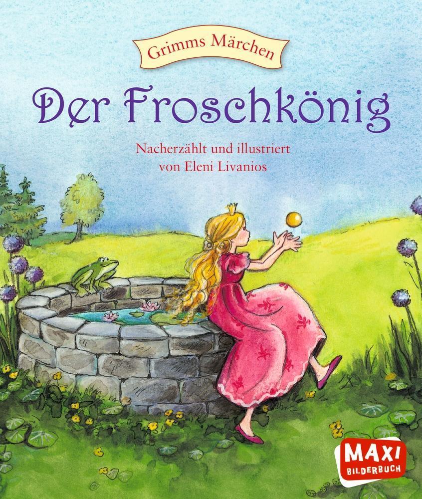 Der Froschkönig als Buch