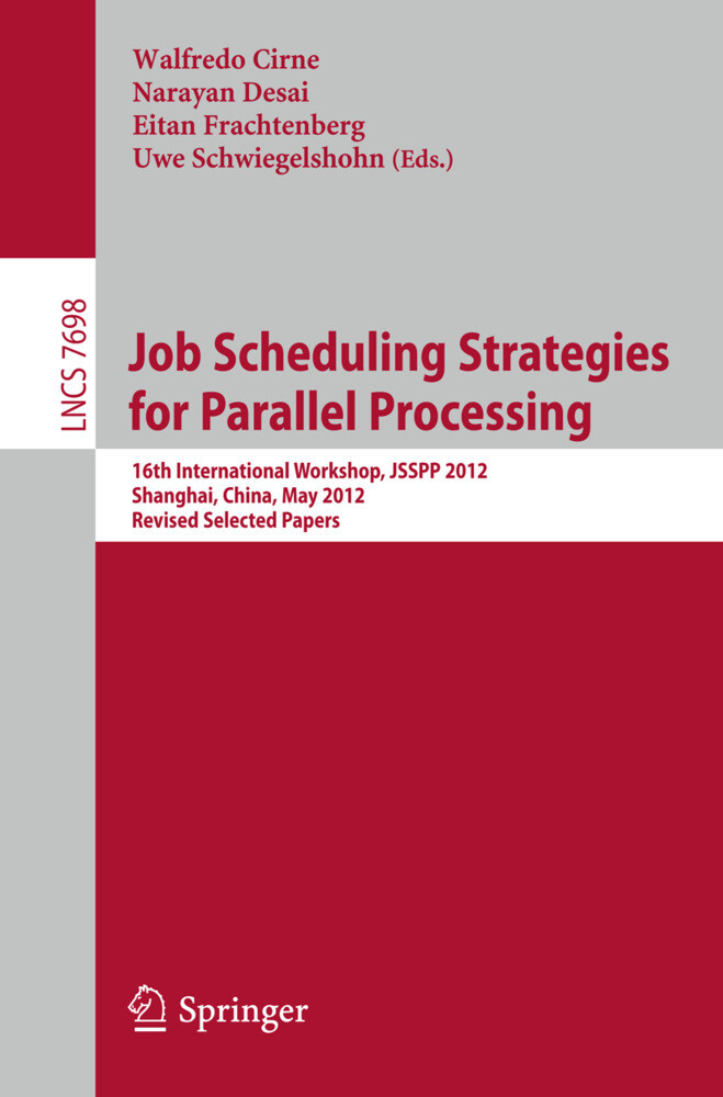 Job Scheduling Strategies for Parallel Processi...