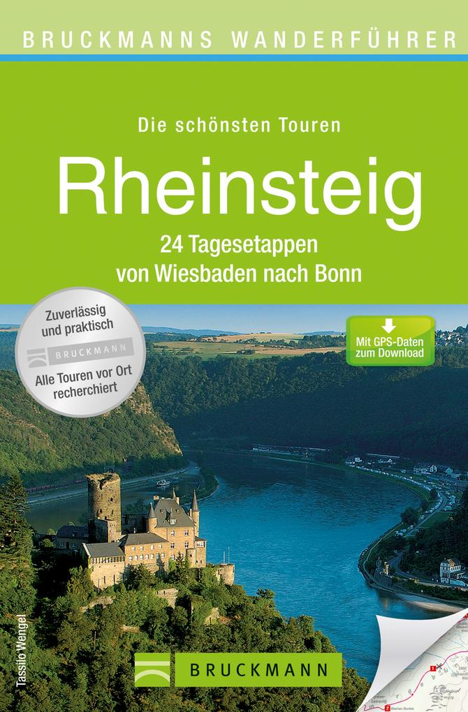 Wanderführer Rheinsteig von Wiesbaden nach Bonn...