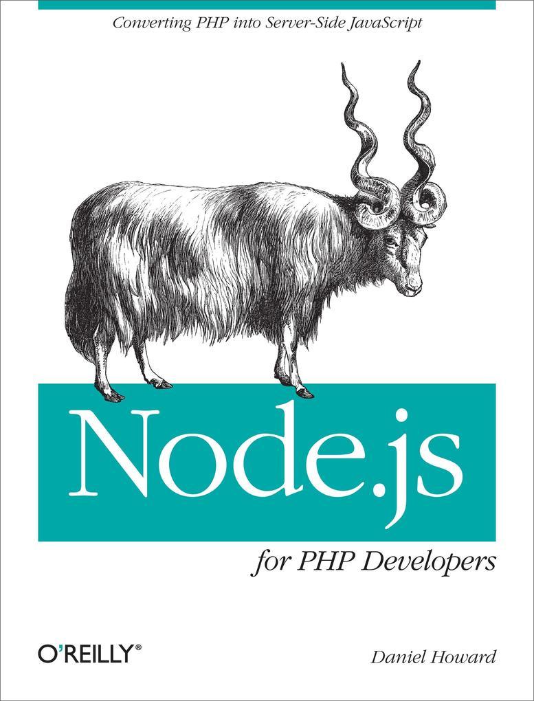 Node.js for PHP Developers als eBook Download v...