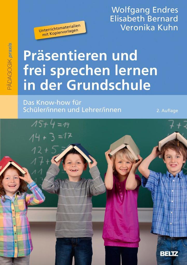 Präsentieren und frei sprechen lernen in der Gr...