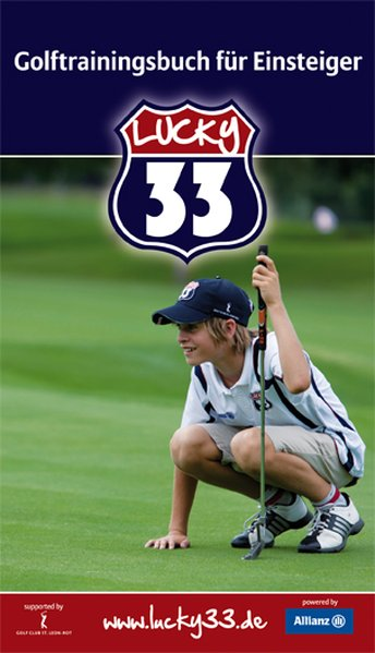 Golfeinsteiger - Trainingsbuch Lucky33 als Buch...