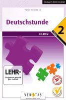 Deutschstunde 2 /6. Schuljahr - CD-ROM zum Spra...