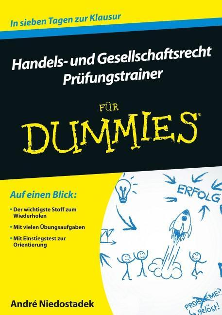 Handels- und Gesellschaftsrecht für Dummies. Pr...