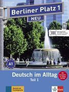 """Berliner Platz 1 NEU in Teilbänden - Lehr- und Arbeitsbuch 1, Teil 1 mit Audio-CD und """"Im Alltag EXTRA"""""""