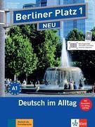 """Berliner Platz 1 NEU - Lehr- und Arbeitsbuch 1 mit 2 Audio-CDs und """"Im Alltag EXTRA"""""""