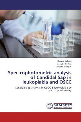 Spectrophotometric analysis of Candidal Sap in ...