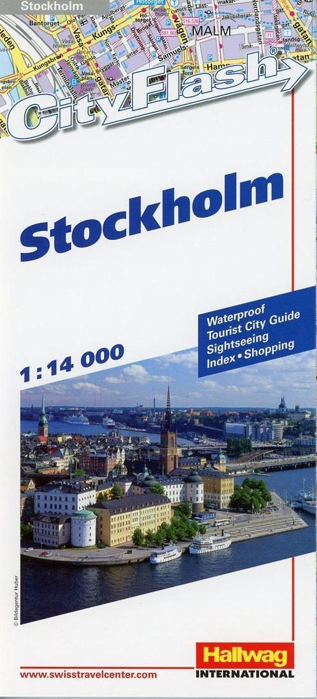 Stockholm 1 : 14 000. City Flash als Buch von