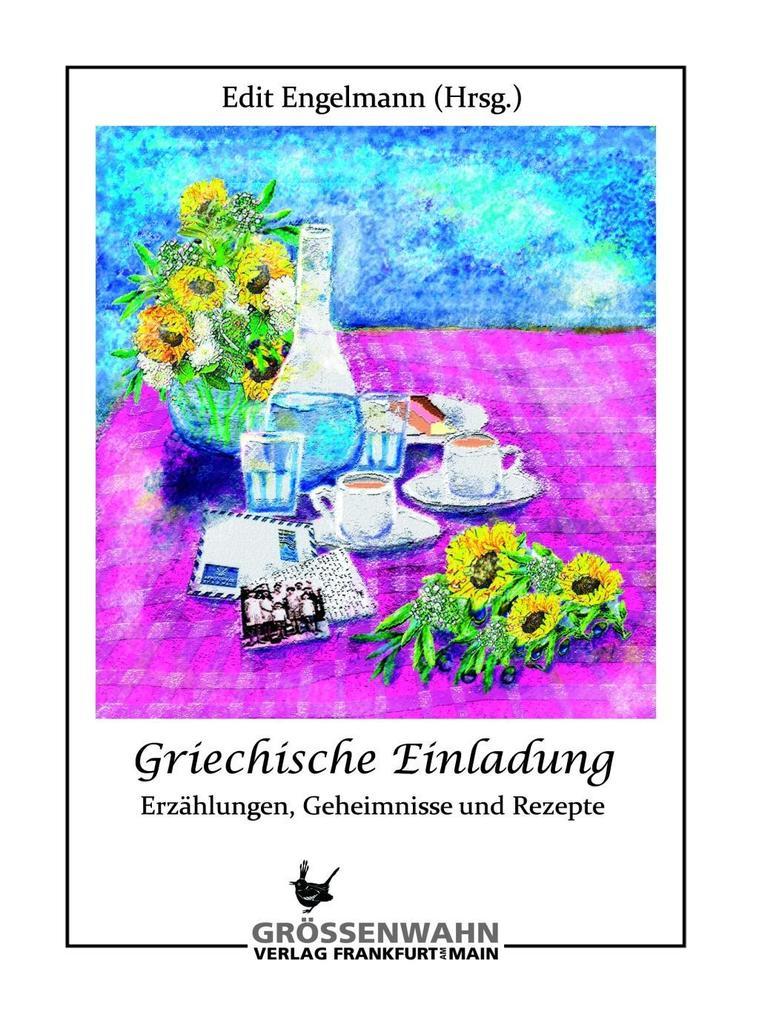 Griechische Einladung als Buch von