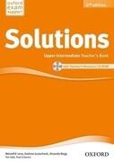 Solutions: Upper Intermediate. Teacher's Book and CD-ROM Pack