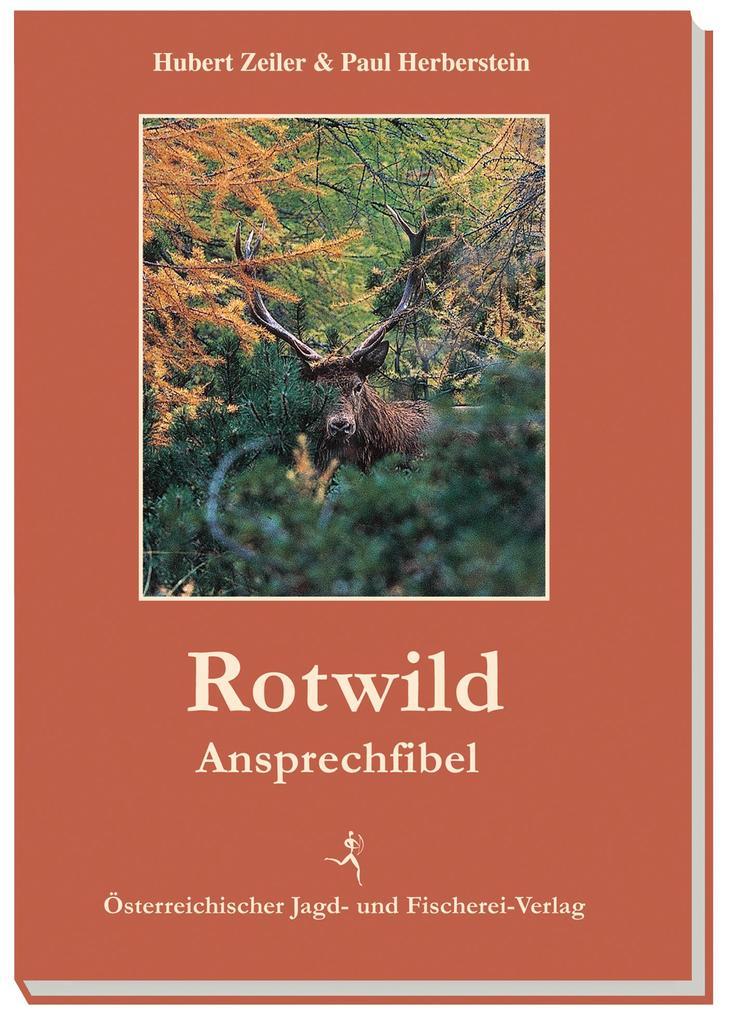 Rotwild-Ansprechfibel als Buch