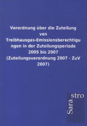 Verordnung über die Zuteilung von Treibhausgas-...