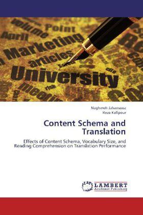 Content Schema and Translation als Buch von Nag...