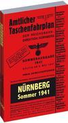 Amtlicher Taschenfahrplan NÜRNBERG - Sommer 1941
