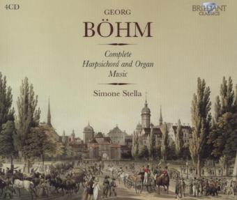 Böhm: Sämtliche Cembalo und Orgelwerke
