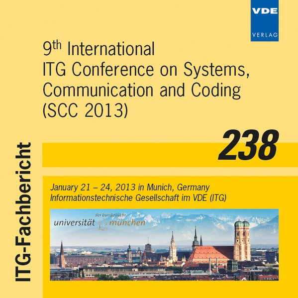 9th International ITG Conference on Systems, Co...