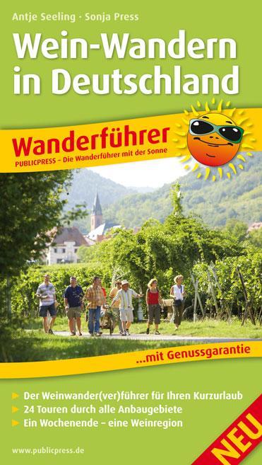 Wanderführer Wein-Wandern in Deutschland als Ta...
